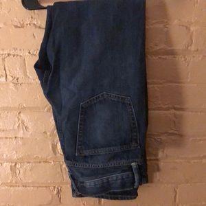 Men's GAP Straight Fit 31x30 Blue Jeans